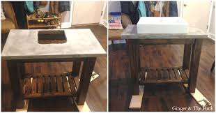 Part 2: Pottery Barn Inspired Vanity (Abbott Console) DIY Bathrooms Design Pottery Barn Mirrored Vanity Disnctive Table Makeup Tour Set Up Chelsea Teen Bathroom Cabinets Medicine Sink Cabinet 29 Chair Home Decoration Master Bath Remodel Restoration Hdware 46 Mirrors Corner 39 Full Size Of Phomenal
