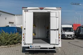 Iveco Daily LAMBox Courier Van With Advertisement - Lamar