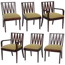 Classic 1940s Paul Frankl Dining Chairs For Johnson Furniture At 1stdibs Made In China Wooden Bright Ding Set6 Seater Round Table Set Of 2 Classic Wood Chairs In Natural White New Fniture Normandy Chair Vintage Distressed Luxury French Baroque Style Room Sets Golden 4 Or 6 Ben Rose Caf Walnut West Elm Australia Amazoncom Rustic Armless Solid Reviews Joss Main Traditional Home Kitchen Antique And Cherry Finish Formal Woptional Items Deana Back Linen And Pine By