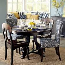 Marchella Rubbed Black Dining Tables