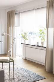 gardinenlösung für licht im wohnzimmer vorhänge