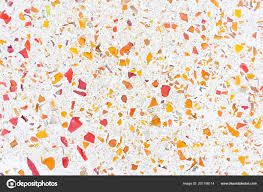 Background Texture Decoration Colorful Terrazzo Floor Stock Photo