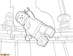 The LEGO Movie Coloring Page Benny Printable Color Sheet