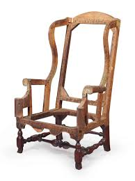 A WILLIAM AND MARY TURNED MAPLE EASY CHAIR | BOSTON, 1710 ...