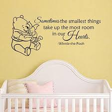 Wall Decal Winnie The Pooh by Winnie The Pooh Wall Decal Quote Sometimes The Smallest Things