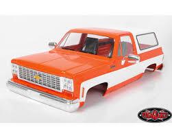 100 Orange Truck Shop RC4WD Chevrolet Blazer Hard Body Complete Set RC4WD ZB0146