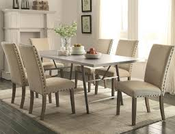 Tufted Dining Chairs With Nailheads S White Chair Nailhead Trim