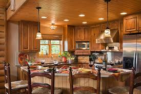 Rustic Log Cabin Kitchen Ideas by Log Home Kitchen Designs 13 Log Home Kitchenlog Home Kitchens