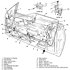 Chevy Door Parts Diagram - Auto Electrical Wiring Diagram •