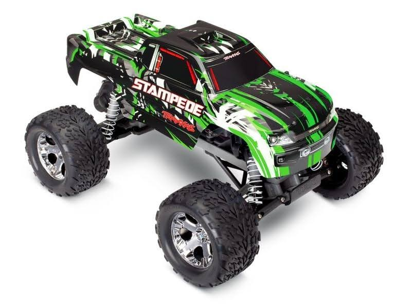 Traxxas 36054-4 - Stampede XL-5 1/10 2WD Monster Truck RTR, Green