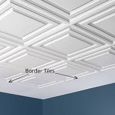 Genesis Ceiling Tile Menards by 100 Fasade Thermoplastic Ceiling Tiles Interior Fasade