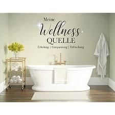 tjapalo pkm453 wandtattoo badezimmer sprüche wandtattoo wellness spruch wandsticker wellness oase wandaufkleber meine wellness quelle mit kristallen