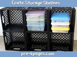 Crate Storage Shelves And Cubbies