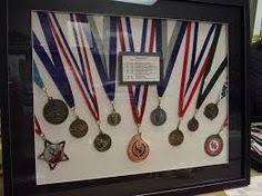 Medal Display On Pinterest