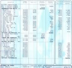 une fiche de paye détaillée et commentée gidmoz