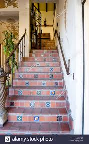 Spanish Style Staircase With Terra Cotta And Decorative Tiles With ... Banister Definition In Spanish Carkajanscom 32 Best Spanish Colonial Home Design Ideas Images On Pinterest Banisters Meaning Custom Stair Parts Mobile Stunning Curved 29 Staircase For Style Home 432 _ Architecture Decorative Risers With Designs For All Tastes The Diy Smart Saw A Map To Own Your Cnc Machine Being A Best 25 Wrought Iron Railings Ideas 12 Stair Railing Renovation
