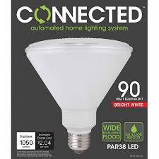 tcp connected smart led light bulb 17w 90w equivalent par38 e26