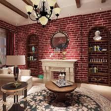 schaum vlies ziegel wand papier shop home dekoration