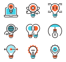 light bulb icons 3 200 free vector icons