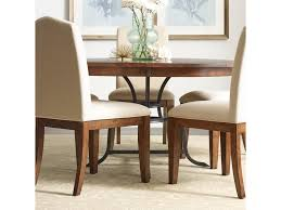 100 Heavy Wood Dining Room Chairs The Nook 54 Round Solid Table With Rustic Metal Base By Kincaid Furniture At Northeast Factory Direct