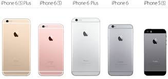 iPhone 6s iPhone 6 and iPhone 5s This is Apple s entire 2015