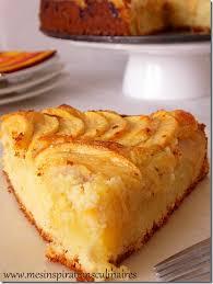gateau tres facile aux pommes secrets culinaires gâteaux et