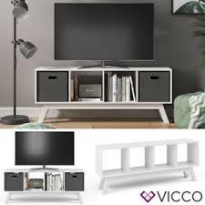 vicco raumteiler ludus 4 fächer standregal lowboard