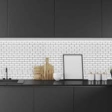 small subway tile backsplash shop b