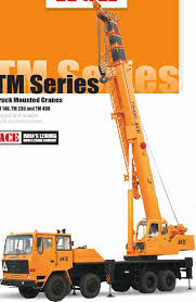 TM Series. Truck Mounted Cranes TM 140, TM 230 And TM 400 Rugged And ...