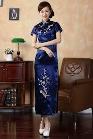 popular cheongsam dress blue buy cheap cheongsam dress blue lots
