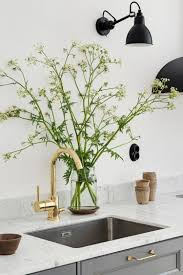 Unlacquered Brass Lavatory Faucet by Kitchen Unlacquered Brass Kitchen Faucet Also Striking Wall