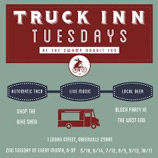 Truck Inn Tuesdays — Swamp Rabbit Inn