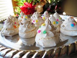 Christmas Tree Meringue Cake by Welcome To My Website