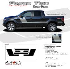 100 Ford Truck Colors FORCE TWO Solid Color F150 Hockey Stripe Appearance Package