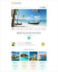 Responsive Travel Agency Website Template 75