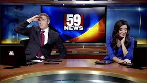 Between On Air Segments The Anchor Attempts A Dance Party To TIs Where They At Doe But His Co Sarah Pisciuneri Looks Like Shes Having None