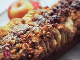 apfel zimt cake mit walnusscrunch food schweiz