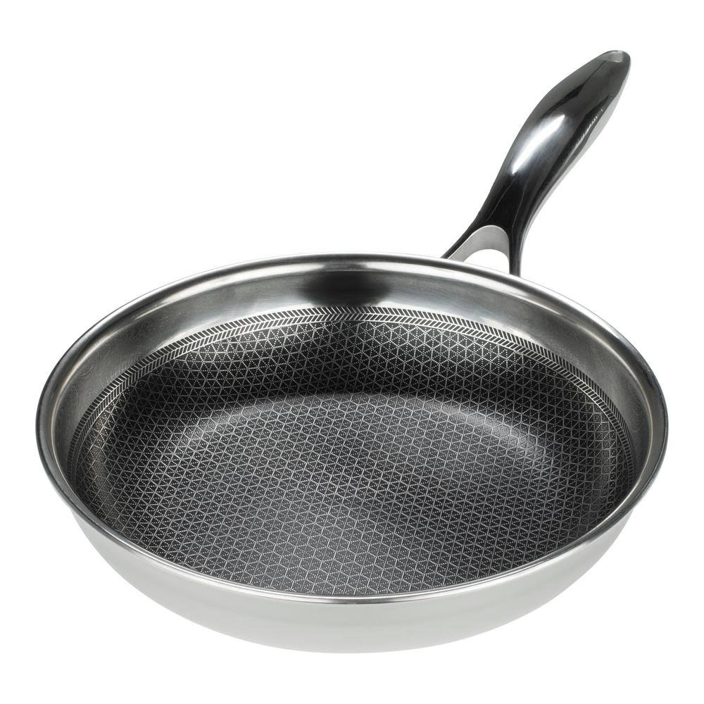 Frieling USA Black Cube Hybrid Stainless Nonstick Fry Pan, 8""