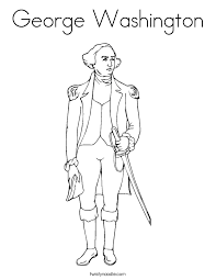 Online George Washington Coloring Page 13 For Pages Adults With