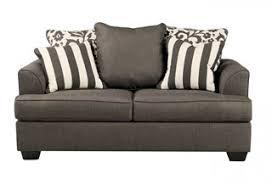 levon contemporary charcoal fabric queen sofa sleeper living