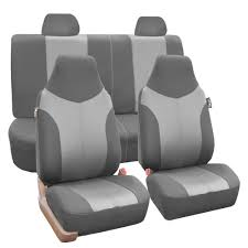100 Truck Seat Cover Luxury Sport Car Set Front Rear Gray For Car SUV EBay