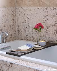 Diy Bathtub Caddy With Reading Rack by How To Make Your Own Diy Bathtub Tray For Your Bathroom