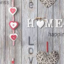 Love Your Home Grey Wood Shabby Chic Wallpaper Rustic Feature FD41718