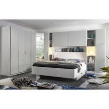 details zu schlafzimmer set mafis bett kleiderschrank spiegel regal in grau und weiß