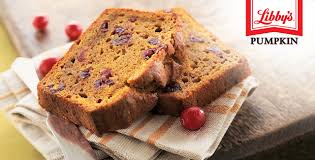 Pumpkin Pie Libbys Recipe by Libby U0027s Pumpkin Cranberry Bread Recipes Peapod