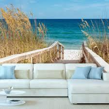 details zu vlies fototapete strand landschaft meer tapete schlafzimmer wandbilder 104
