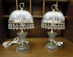 Ebay Antique Lamps Vintage by Antique Crystal Table Lamps Lighting And Ceiling Fans