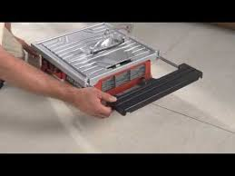 skil 3550 02 7 inch wet tile saw review youtube