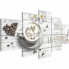 details zu wandbilder küche kaffee esszimmer bild coffee vintage grau