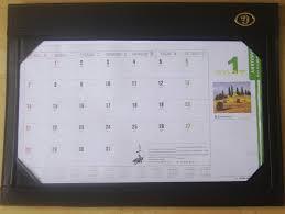 desk writing mat calendar blotter table planner l8005 pretty